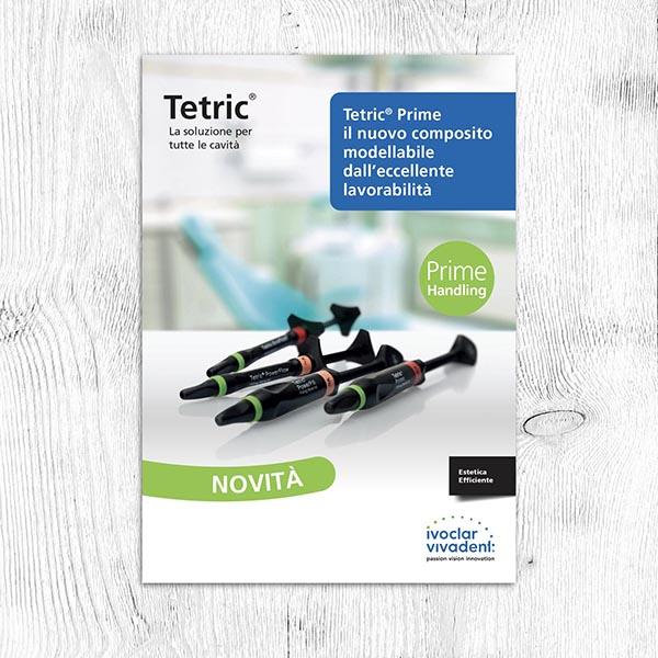 copertina brochure tetric per ivoclar